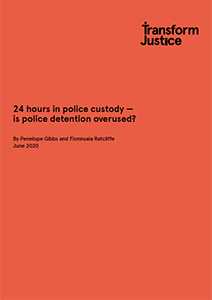 Justice report cover
